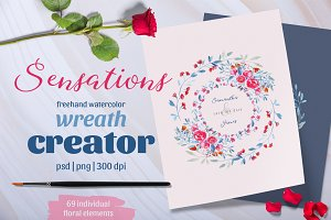 Sensations Wreath Creator