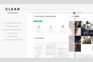 Clear - Responsive WordPress Theme