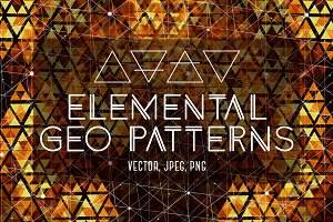 Elemental Hypnotic Geo Patterns