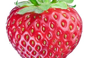 strawberry fruit isolated