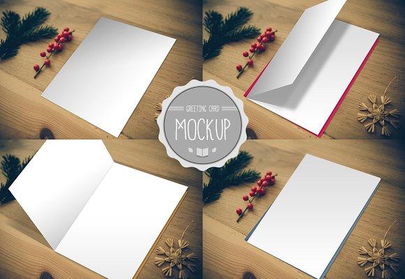 Greeting card mockup product mockups creative market greeting card mockup product mockups m4hsunfo