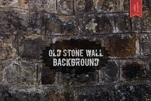 Old Stone Wall Background #1