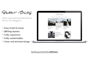 SmartBlog - WordPress Theme for Blog