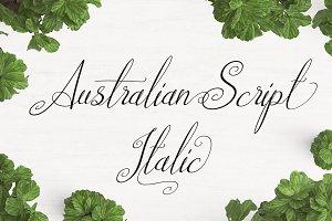 Australian Script Italic