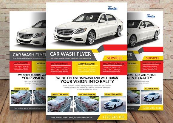 Car Business Flyer