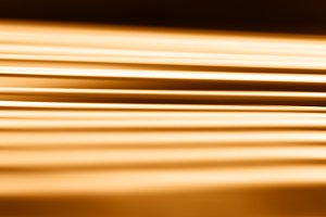 Diagonal orange motion blur library background