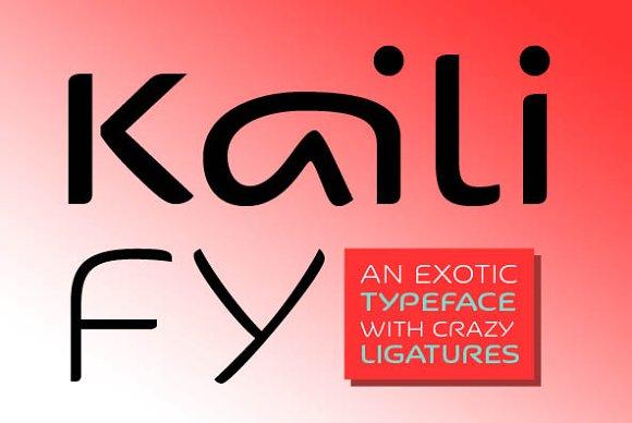 Kaili FY Family (2 fonts)