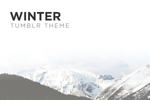 Winter Tumblr Theme