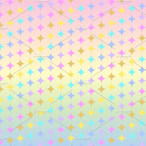 Pastel Rainbow Unicorn Papers in Patterns - product preview 3