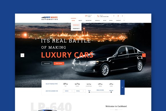 Car Max Automotive HTML Template