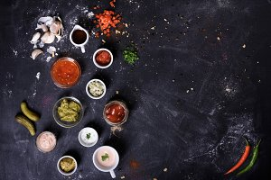 Sauces and cooking ingredients