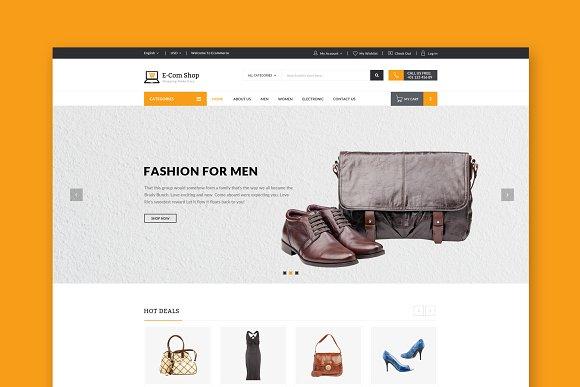 Ecom ECommerce HTML Template