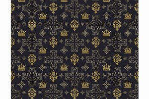 Seamless pattern for the interior