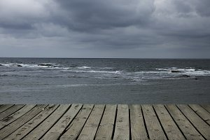 Storm and sea 1