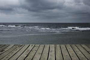 Storm and sea 2