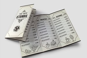 Cafe Menu Pack 01