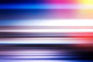 Horizontal motion blur with light leak  background
