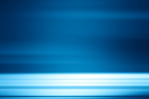 Horizontal blue motion background