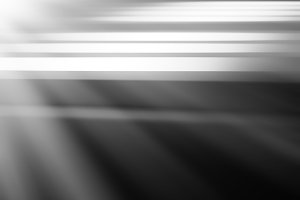 Horizontal black and white files with light leak background