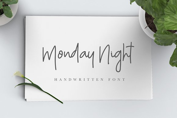 Monday Night Font