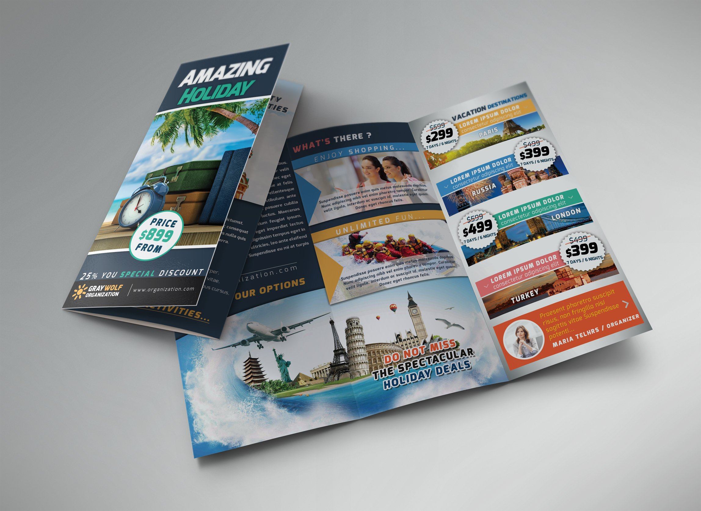Travel Tour Trifold Brochure And F Brochure Templates Creative