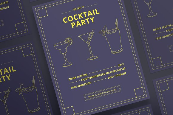 Posters Cocktail Party