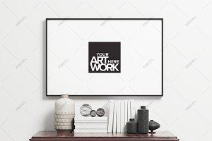 Minimalist Poster Frame Mockup