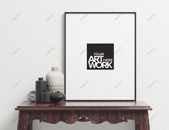 Download Minimalist Frame Mockup Portrait