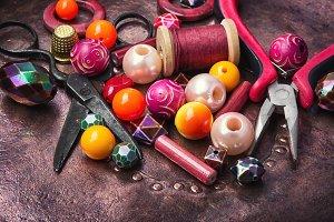 fashion bead making accessories