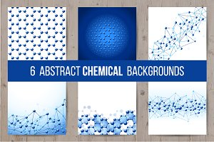 Abstract chemical backgrounds