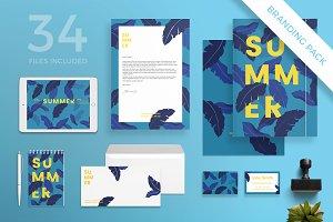 Branding Pack | Summer Leaves