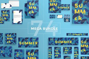 Mega Bundle | Summer Leaves