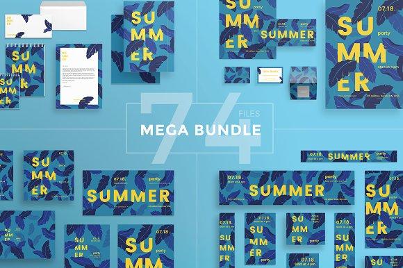 Mega Bundle Summer Leaves