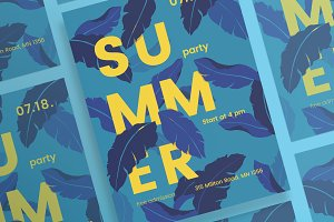 Posters | Summer Leaves
