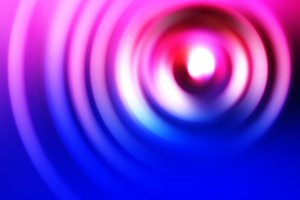 Blue and pink swirl illustration background
