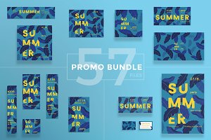Promo Bundle | Summer Leaves