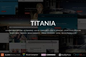 Titania - Business WordPress Theme
