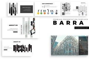 BARRA Premium PowerPoint Template