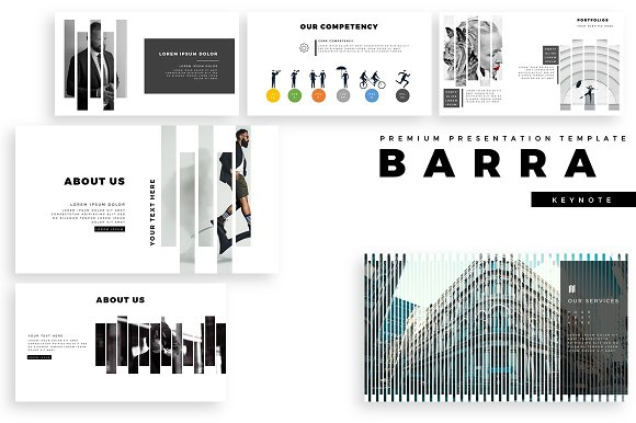 BARRA Premium Keynote Template