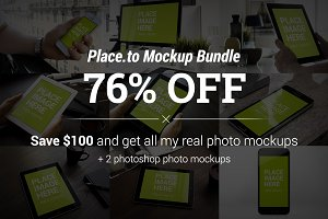 (76% off) Place.to Mockup Bundle