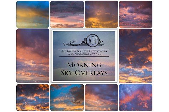 Fine Art Morning Sky Overlays