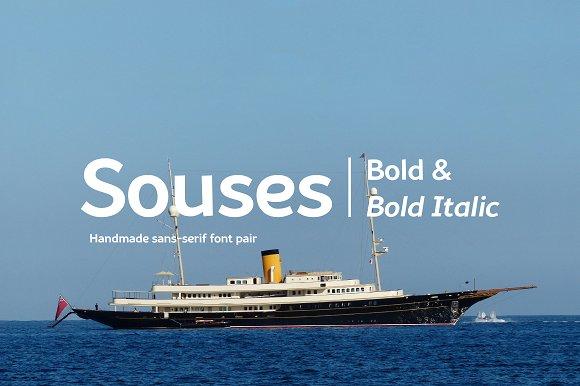 Souses-Bold Bold Italic