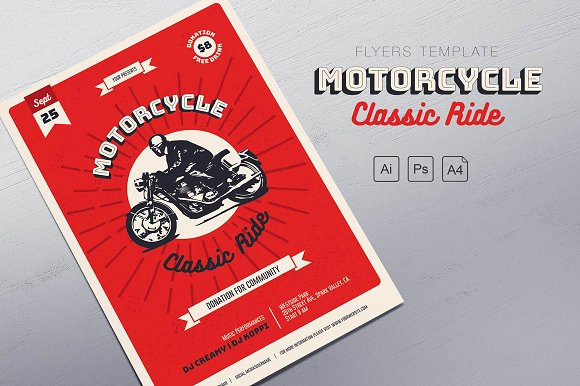 Motorcycle Classic Ride