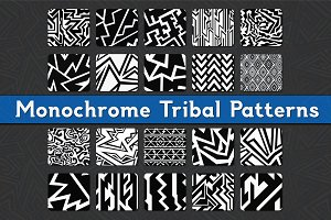 Monochrome Tribal Patterns