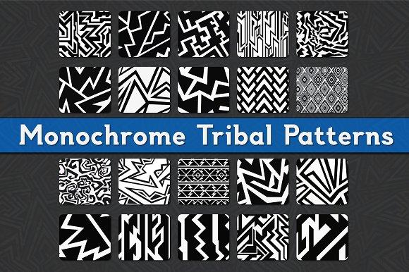 Monochrome Tribal Patterns