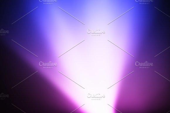 Diagonal Pink And Purple Light Leak Bokeh Background