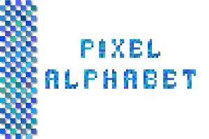 Pixel Alphabet