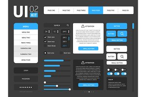 Vector UI template