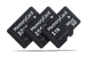 Micro SD memory card