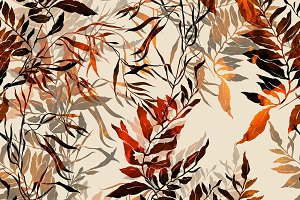 herbs seamless pattern | JPEG